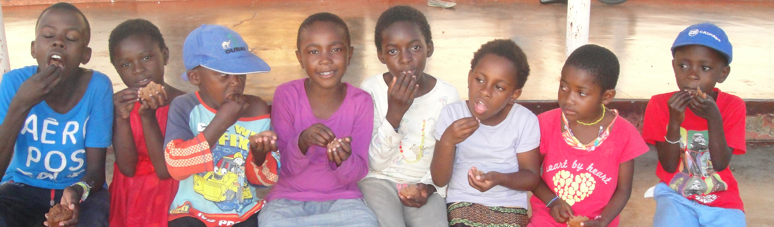 Children in Zambia
